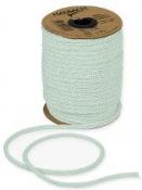 Papierová šnúra pletená 4 mm - mentolová
