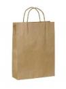 Papierová kraftová taška 24 x 34 cm - hnedá