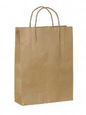 Papierová kraftová taška 35 x 40 cm - hnedá