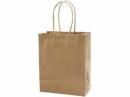 Papierová kraftová taška 18 x 22 cm - hnedá