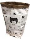 Papierové vrece na hračky 45 cm - medvedíky