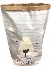 Papierové vrece na hračky 80 cm - My Bear