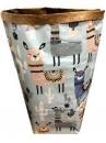 Papierové vrece na hračky 80 cm - Lama
