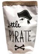 Papierové vrece na hračky 45 cm - malý pirát