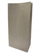 Papierové vrecko 24 cm - francúzska sivá