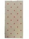 Vianočné papierové vrecúško 12 x 6 x 24,5cm - hnedé