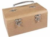 Papierový kufrík - 19x13x9 cm