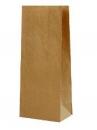 Papierové vrecúško - 19 cm - hnedé
