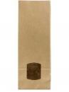 Papierové vrecúško s okienkom - 21cm