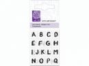 Silikónová pečiatka - abeceda a čísla