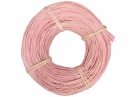 Pedig, ratanové prúty 100g 1,5mm - pastelový ružový