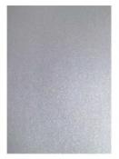 Perleťový papier A4 - strieborný
