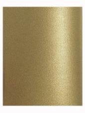 Perleťový papier A4 - antický zlatý