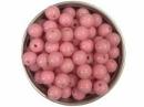 Plastová korálka 8 mm - ružová
