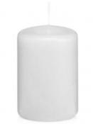 Prémiová sviečka 5 cm - biela