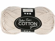 Priadza 100% bavlna - béžová