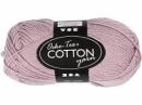 Priadza 100% bavlna - vintage fialová