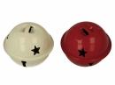 Rolnička 4 cm - karmínová červená
