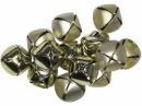 Rolnička 3cm - platinová zlatá lesklá