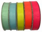 Rypsova stuha 15 mm - svetlá zelená