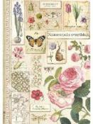 Ryžový papier A4 -  Botanic