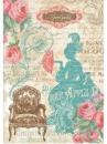 Ryžový papier A4 - dáma