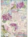 Ryžový papier A3 - Hortenzia