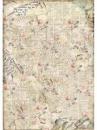 Ryžový papier A3 - Tóny ruží