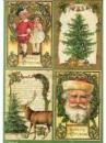 Ryžový papier A4 - Vianočné pohľadnice