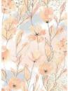 Ryžový papier A4 - Jesenné kvety