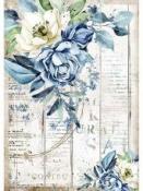 Ryžový papier A4 - Romantický morský sen