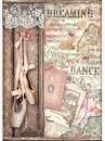 Ryžový papier A4 - Dance Dreaming