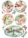 Ryžový papier A4 - Wonderland Fantasy