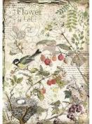Ryžový papier A4 - príroda