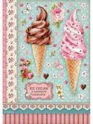 Ryžový papier A4 - Ice cream