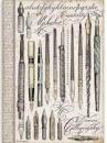 Ryžový papier A4 -  Kaligrafické perá