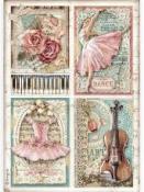 Ryžový papier A4 - Vášeň pre umenie