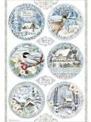 Ryžový papier A4 - Čarovné vianoce