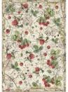 Ryžový papier A4 - lesné maliny