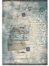 Ryžový papier A4 - vintage pohľadnice