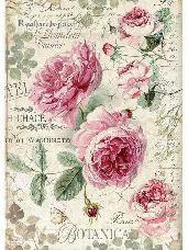 Ryžový papier A4 -  Anglické ruže