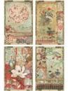 Ryžový papier A4 - Japonská záhrada