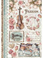 Ryžový papier A4 - Passion Music