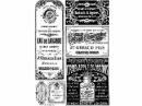 Ryžový papier A4 - staré etikety