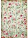 Ryžový papier A4 - malé ružičky