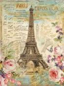 Ryžový papier 48x33cm - Paris tour