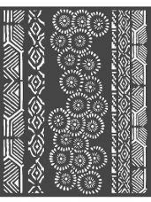 Šablóna 20 x 25cm - Ornamenty Amazonia