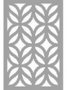 Šablóna 10 x 15 cm - listy