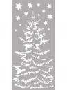 Šablóna 12 x 25 cm - Vianočný stromček