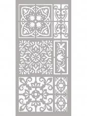 Šablóna 12 x 25 cm - Mozaika